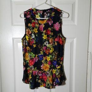 Banana Republic Floral print blouse